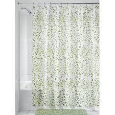 Vinyl Shower Curtains Interdesign Vine Peva Vinyl Shower Curtain Bedbathhome