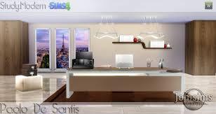 bureau sur bureau sims 4