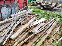 hoarding wood like gold tiny farm