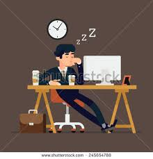 Sleeping At Your Desk Lazy Man Stock Images Royalty Free Images U0026 Vectors Shutterstock