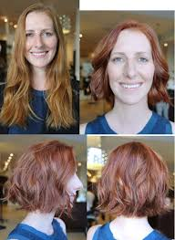 before and after picuters of long to short hair 15 unbelievable before and after hair transformations