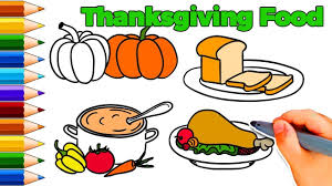 how to draw thanksgiving food how to draw thanksgiving things