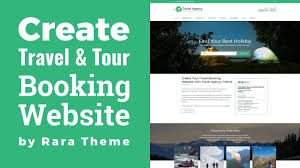 traveling websites images Travel agency wordpress theme customization tutorial travel jpg