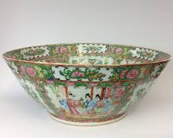 canton porcelain large 19th century export canton famille porcelain