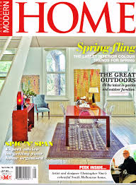 modern home magazine home design