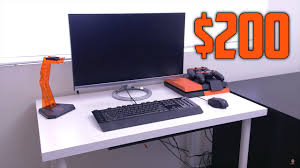 best gaming setup for 200 2017 youtube