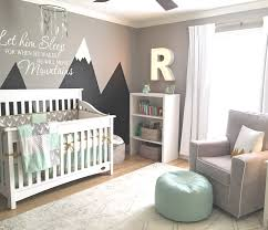 12 nursery trends for 2017 project nursery mountain mural with let him sleep move mountains quote decal
