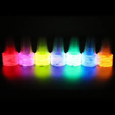 glow in the cups glow stick party cups geektoypia