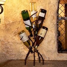 wine tree eclectic wine racks atlanta iron accents wrought iron