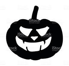 scary pumpkin face vector symbol icon design stock vector art