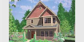 luxury home plans for narrow lots narrow lot house plans building small houses for small lots
