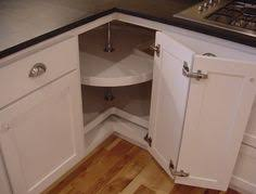 Corner Kitchen Cabinet Solutions by Twin Corner 2 Blind Corner Pull Out 45