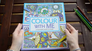 color with me a coloring book to share flip through youtube