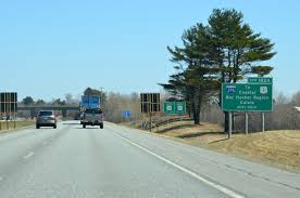 U S Route 395 In by Interstate Guide Interstate 395 Maine