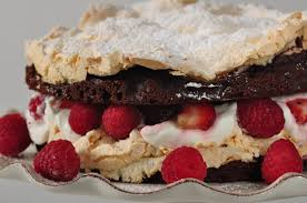 chocolate meringue cake joyofbaking com video recipe