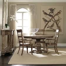 Pedestal Dining Table Hooker Furniture Sorella Round Pedestal Dining Table With Leaf