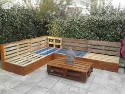Garden Bench With Planters Complete Pallet Garden Lounge With Table U0026 Planters U2022 1001 Pallets