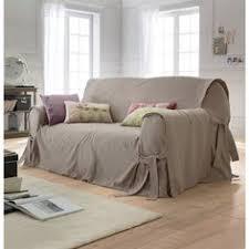 la redoute housse canapé mettre en valeur mon vieux canapé avec des plaids coussins