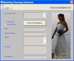 wedding planner software free wedding planning software wedding planning software