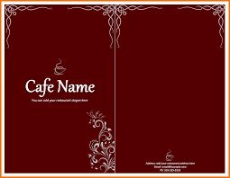 free restaurant menu templates cafe menu template png scope of