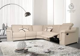 Cow Leather Sofa Imported Sofa With Recliner System Relaxon