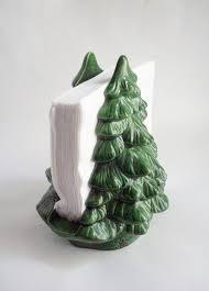 cij sale vintage tree napkin holder ceramic mold