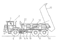 tractor trailer coloring pages patent us8327966 articulated dump truck google patents