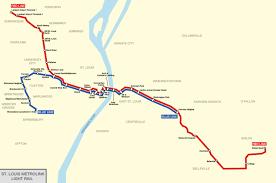 Map St Louis Imperial U0027s Transit Maps U2014 St Louis Metrolink Map My Design