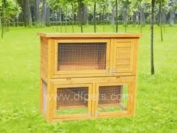 build your own rabbit hutch or guinea pig hutch easy woodworking
