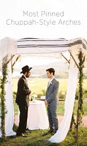 how to build a chuppah most pinned chuppah style arches oncewed