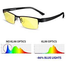 blue light filter goggles klim optics glasses to block blue light new high protection for