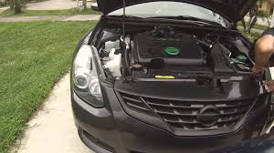 grey nissan altima coupe removing nissan altima coupe grille without bumper youtube