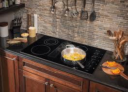36 Induction Cooktop With Downdraft Frigidaire Rc36de60pb 36 Inch Electric Cooktop With 4 Smoothtop