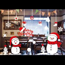 Christmas Window Decorations Wholesale by Sticker Film Picture More Detailed Picture About Christmas New