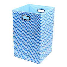 decorative laundry hampers amazon com modern littles bldlaun101 bold chevron folding