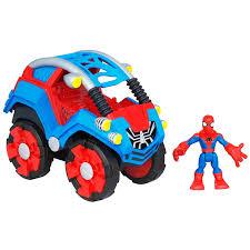 amazon com spider man flip out stunt buggy toys u0026 games