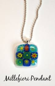 How To Make Fused Glass Jewelry - tuesday tutorials faux fused glass pendants glass pendants