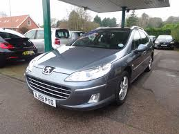 peugeot second hand diesel second hand peugeot 407 2 0 hdi 140 sport 5dr for sale in beccles