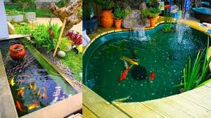 awseome backyard fish ponds u0026 water garden ideas youtube
