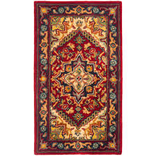 Cheapest Area Rugs Online by Heritage Red 2 Ft 3 In X 4 Ft Area Rug Products