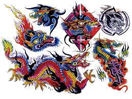 colour flash tattoo design img33 coloured flash tatto sets