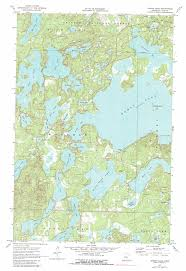 Map Mn Woman Lake Topographic Map Mn Usgs Topo Quad 46094h3