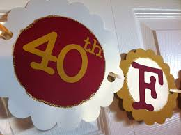 40th anniversary ideas 40th anniversary ideas for a party 40th anniversary decorations
