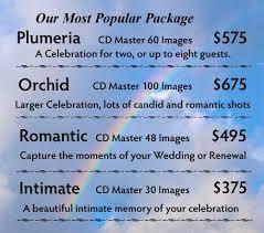 wedding photography packages kauai wedding photography