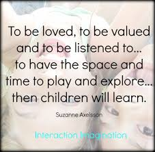 quote about learning environment interaction imagination september 2017