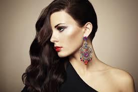 earrings girl earrings vector for free