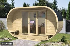 bureau de jardin design chalet bureau de jardin ovale kit bois thermowood vitrage 16m2