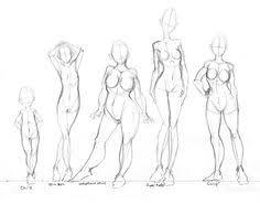 how to draw female body ev desenho corpo humano e rosto
