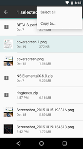 file for android snuck a file manager in android marshmallow here s how to