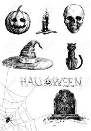 gravestone halloween drawings u2013 halloween wizard